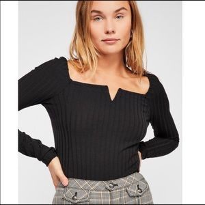 Free People After Party ribbed top